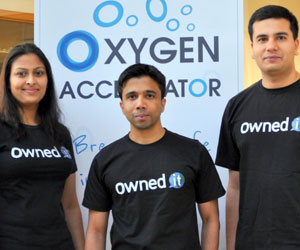 Oxygen Accelerator start-up Owned it secures 100k funding