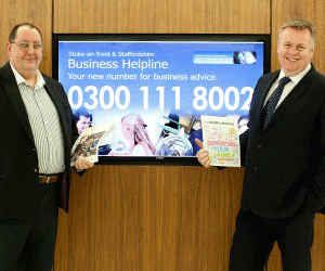Staffordshire Business Loan Fund supports its 100th Business